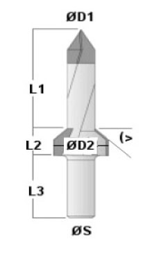 Thru Bore Countersink